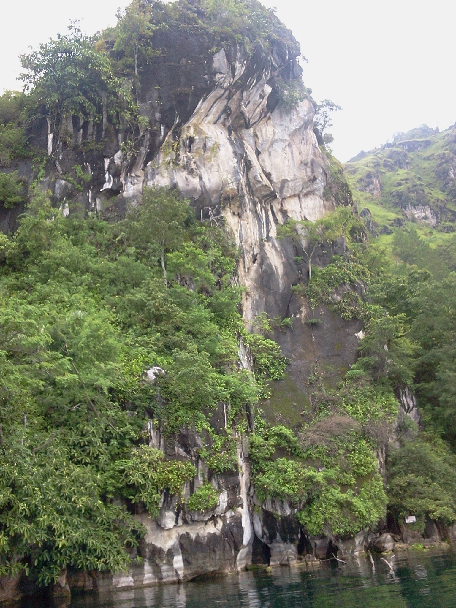 The Hanging Rock (Batu Gantung) Lake Toba Indonesia